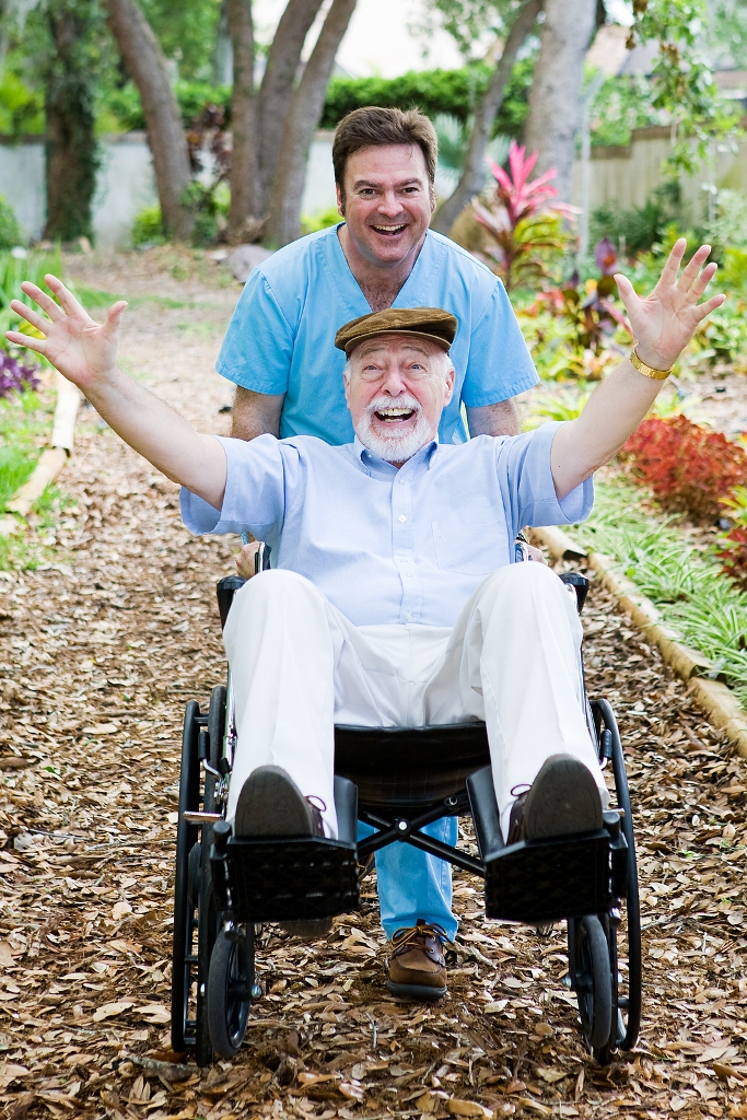 TrustAged.org | Disabled Senior Having Fun